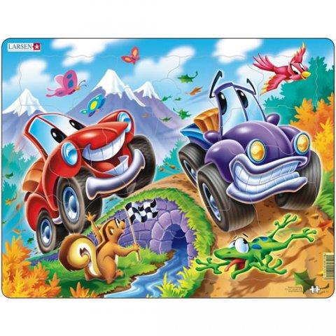 neuveden: Puzzle MAXI - Auta - cars/22 dílků