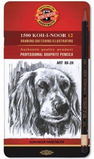 neuveden: Koh-i-noor grafická sada TOISON D´OR souprava 12 grafitových tužek technick