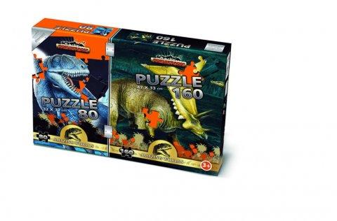 neuveden: Puzzle Mix 80/160 - Prehistoric