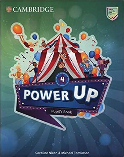 Nixon Caroline: Power Up Level 4 Pupil´s Book