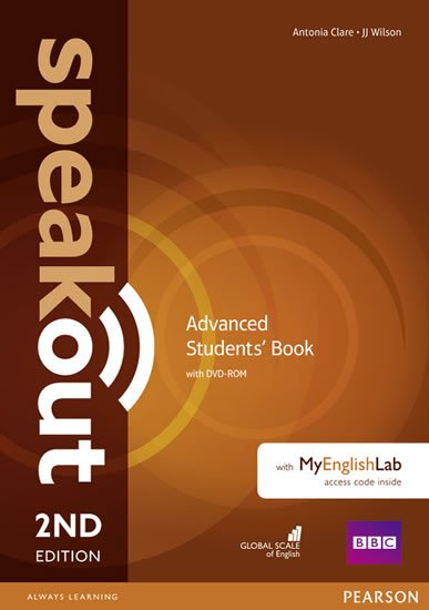 Clare Antonia: Speakout 2nd Edition Advanced Students´ Book w/ DVD-ROM/MyEnglishLab Pack