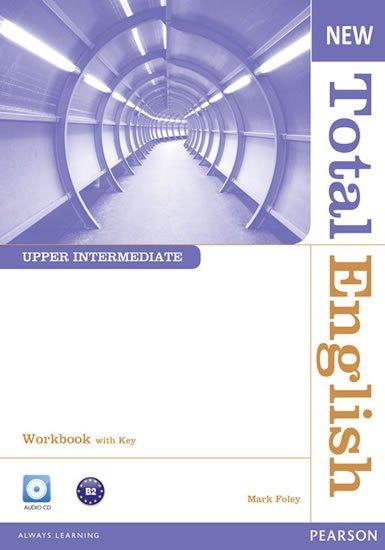 Foley Mark: New Total English Upper Intermediate Workbook w/ Audio CD Pack (w/ key)