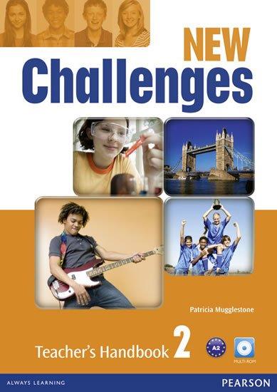 Mugglestone Patricia: New Challenges 2 Teacher´s Handbook w/ Multi-Rom Pack