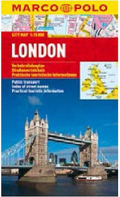 neuveden: London - City Map 1:15000