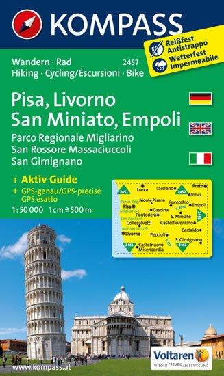 neuveden: Pisa,Livorno,San Miniato 2457 / 1:50T NKOM