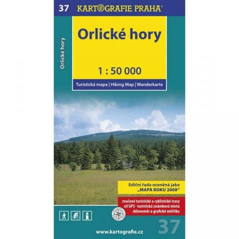 neuveden: 1: 50T (37)-Orlické hory (turistická mapa)