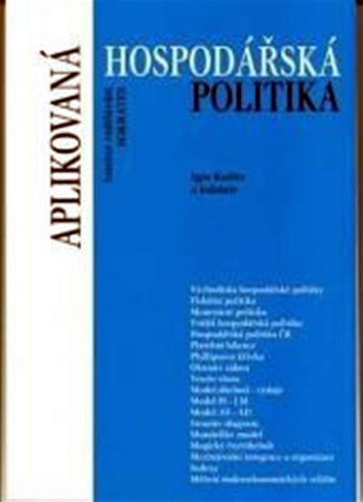 neuveden: Aplikovaná hospodářská politika