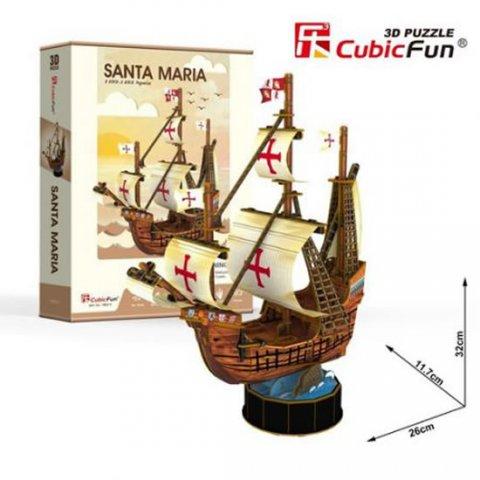 neuveden: Puzzle 3D Santa Maria/93 dílů