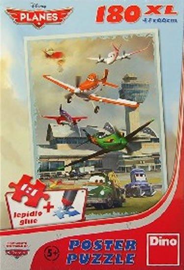 neuveden: Letadla - Hladké přistání - Puzzle 180 D