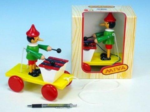 neuveden: Pinocchio s xylofonem tahací