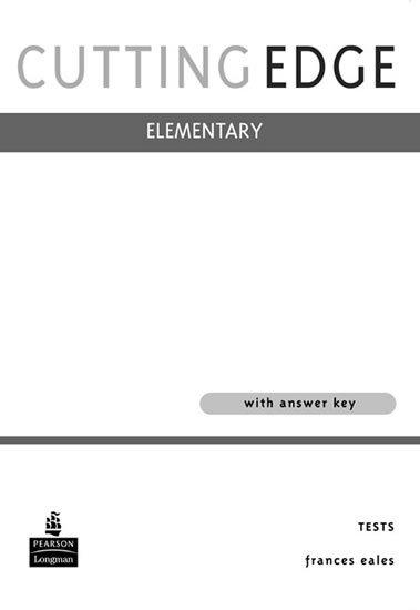 neuveden: Cutting Edge Elementary Tests