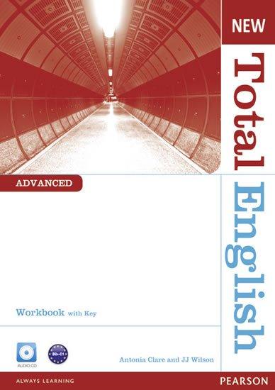 Clare Antonia: New Total English Advanced Workbook w/ Audio CD Pack (w/ key)