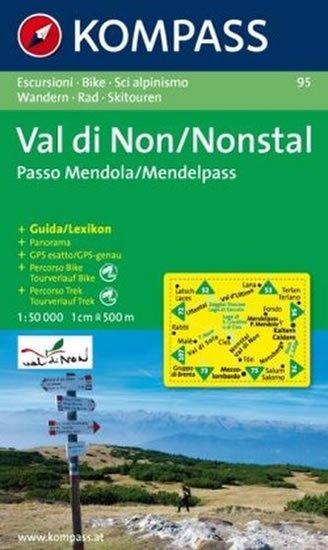 neuveden: Val di Non,Nonstal 95 / 1:50T NKOM
