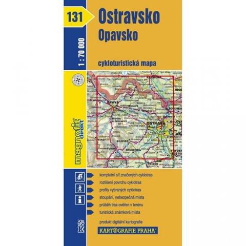 neuveden: 1: 70T(131)-Ostravsko,Opavsko (cyklomapa)