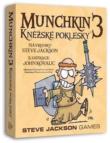 neuveden: Munchkin 3/Kněžské poklesky - Karetní hra - rozšíření