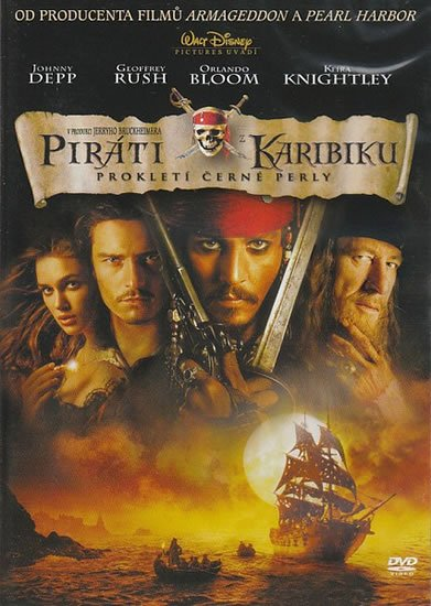 neuveden: Piráti z Karibiku: Prokletí Černé perly DVD