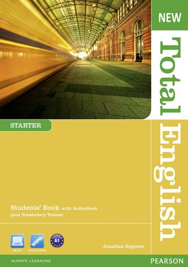Bygrave Jonathan: New Total English Starter Students´ Book w/ Active Book Pack