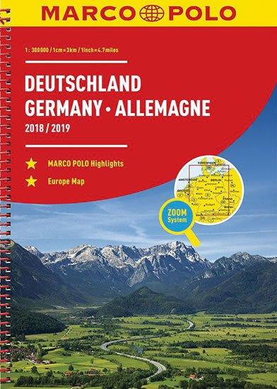 neuveden: Německo, Evropa/atlas-spirála 18/19  1:300T MD