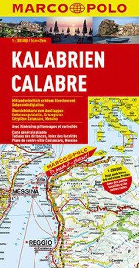 neuveden: Itálie č. 13-Kalabrien/mapa 1:200T MD