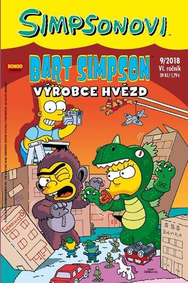 kolektiv autorů: Simpsonovi - Bart Simpson 9/2018 - Výrobce hvězd