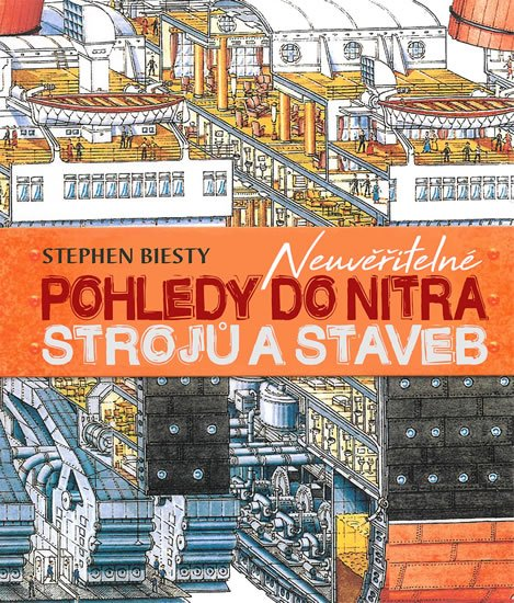 Biesty Stephen: Neuvěřitelné pohledy do nitra strojů a staveb
