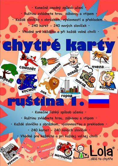 neuveden: Chytré karty - Ruština slovíčka 1