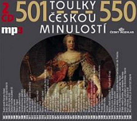 kolektiv autorů: Toulky českou minulostí 501-550 - 2CD/mp3
