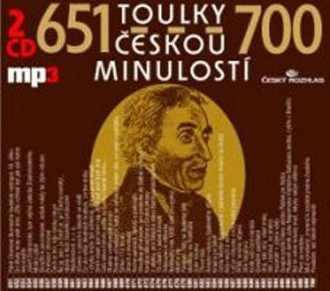 kolektiv autorů: Toulky českou minulostí 651-700 - 2CD/mp3