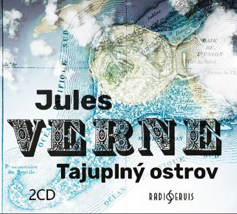 Verne Jules: Tajuplný ostrov - 2 CDmp3