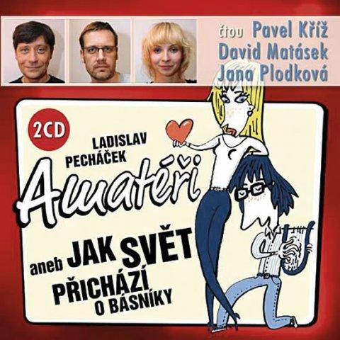 Pecháček Ladislav: Amatéři aneb Jak svět přichází o básníky - 2 CD (Kříž P., Matásek D., Plodk
