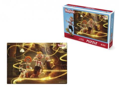 neuveden: Hurvínek - puzzle II./60 dílků