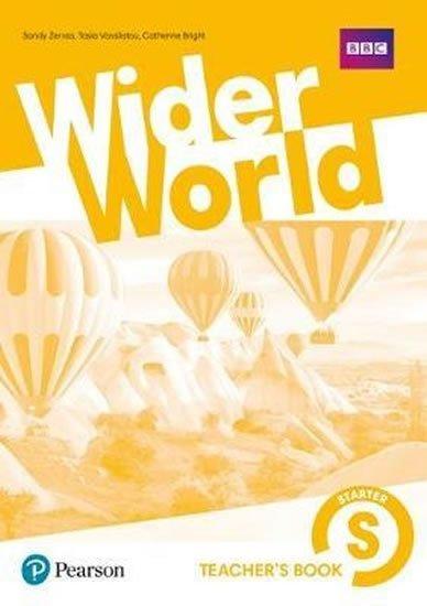 neuveden: Wider World Starter Teacher´s Book w/ MyEnglishLab/ExtraOnline Home Work/DV