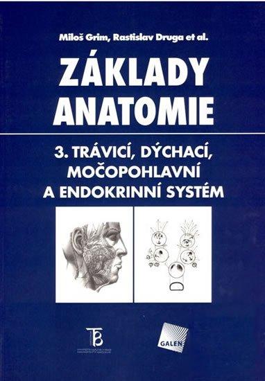Grim Miloš, Druga Rastislav: Základy anatomie 3 - Trávicí, dýchací, močopohlavní a endokrinní systém