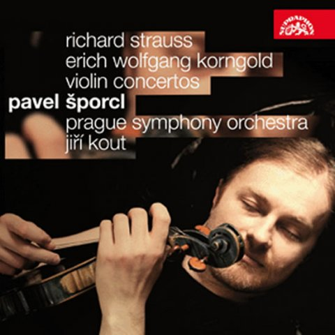 Šporcl Pavel: Houslové koncerty - Korngold/Strauss - CD