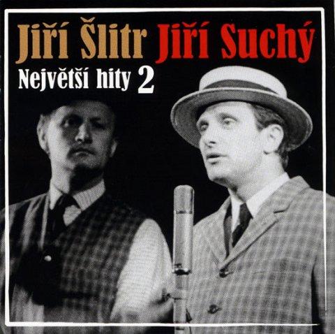 Suchý Jiří, Šlitr Jiří: Největší hity 2 - Šlitr a Suchý - CD