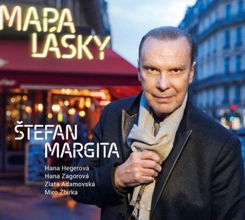 Margita Štefan: Mapa lásky - CD