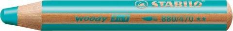 neuveden: Pastelka STABILO Woody 3v1 tyrkysová