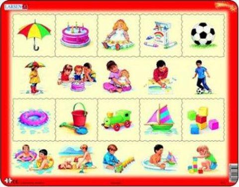 neuveden: Puzzle MAXI - Kombi puzzle/35 dílků