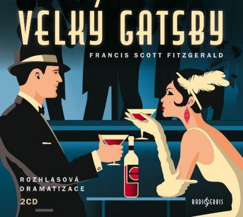 Fitzgerald Francis Scott: Velký Gatsby - 2 CDmp3