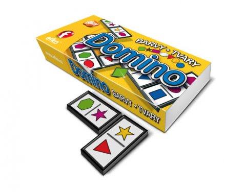 neuveden: Domino - BARVY A TVARY