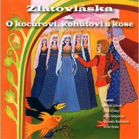 neuveden: Zlatovláska/O kocúrovi - CD