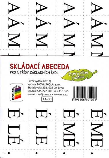 neuveden: Skládací abeceda (Čteme a píšeme s Agátou)