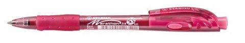 neuveden: Kuličkové pero STABILO marathon červené