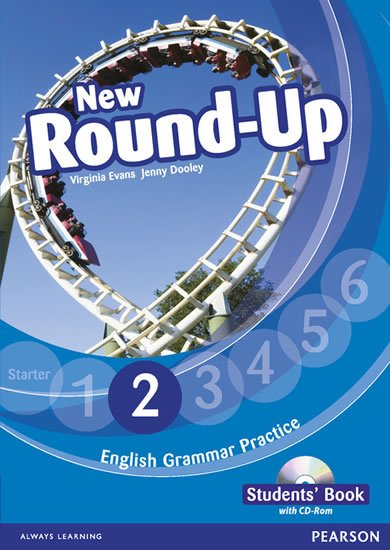 Dooley Jenny: Round Up 2 Students´ Book w/ CD-ROM Pack