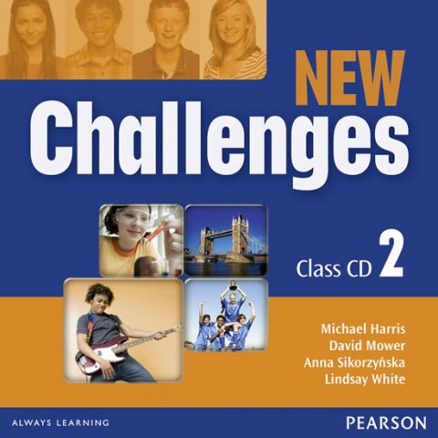 White Lindsay: New Challenges 2 Class CDs