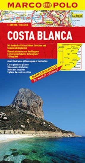 neuveden: Costa Blanca/mapa