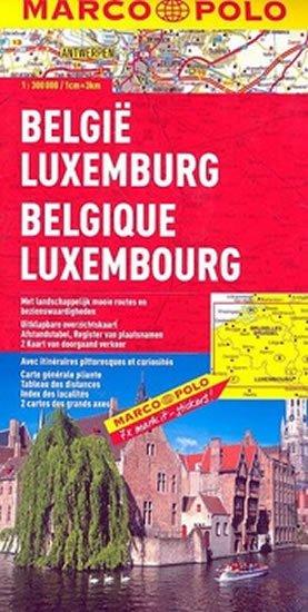 neuveden: Belgie/Lucembursko/mapa 1:300T MD