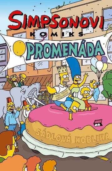Groening Matt: Simpsonovi Promenáda