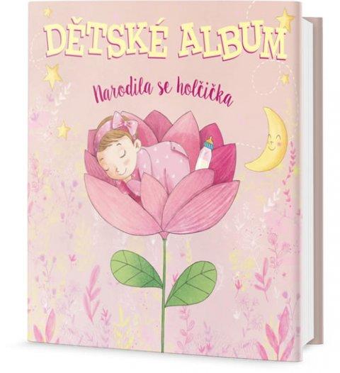 neuveden: Dětské album - Narodila se holčička