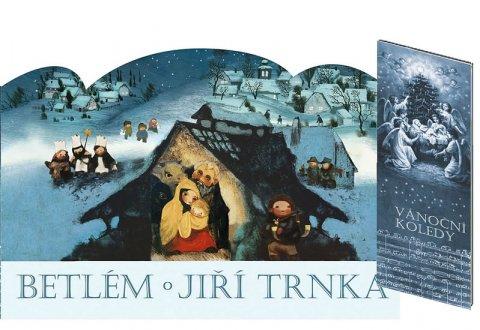 Trnka Jiří: Betlém skládací + Vánoční koledy s notami
